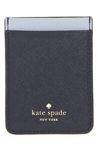 Kate Spade New York 256639 Shimmer Navy iPhone Sticker Pocket 2.5x3