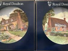 Royal Doulton Bone China 1993 Seasons Plate Pn17 & Pn18