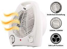 Heizlüfter A08 für Badezimmer energiesparend Bad Elektro Heizung E Heizer Weiß