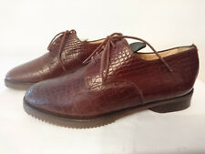 "Chaussures plates lacets style masculin ""Marron"" - MAUD FRIZON - T.36"