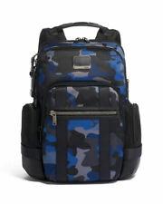 New Tumi Alpha Bravo Nathan Backpack   Camo Blue