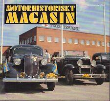 Motorhistoriskt Magasin Swedish Car Magazine #4 1993 MHS 031617nonDBE