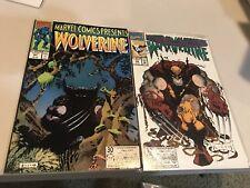 Marvel Comics Presents Wolverine #91, 92 VF/NM
