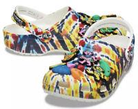 Chinatown Market x Grateful Dead Crocs Classic Clog Mens Sz 4 Women Sz 6 NEW