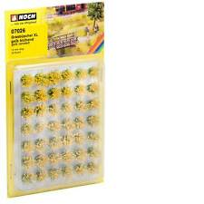 "Noch 07026 Tufts of Grass XL ""flowering"" Yellow 12mm Original"