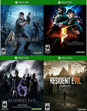 Resident Evil bundle lot: 4, 5, 6, 7 Biohazard BRAND NEW Xbox One X1 SHIPS TODAY