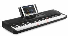 The ONE Light Keyboard Piano 61-Key Portable Keyboard Electronic Keyboard, Black