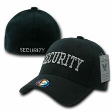 Security Law Enforcement Flex Fit Baseball Hat Cap