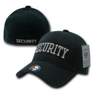 Security Law Enforcement Flex Fit Baseball Hat Cap