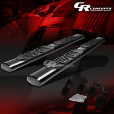 """BLACK 6"""" OVAL STEP NERF BAR RUNNING BOARD FOR 99-16 FORD SUPER DUTY EXTENDED CAB"""