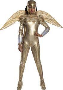 Wonder Woman 1984 - Gold Armored Wonder Woman - Adult Deluxe Costume