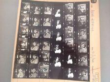 ANNA KARINA : PLANCHE CONTACT  DE 1972 (35 Photos)