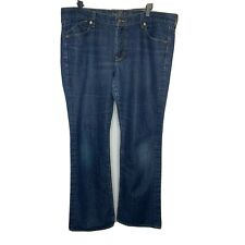 Old Navy Womens Blue Jeans Size 16 The Flirt Fit Mid Rise Bootcut Stretch