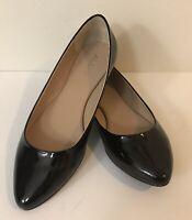 ALDO Black Patent Slip On Luevano Women's Ballet Flats Shoes Size 7.5 B