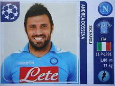 Panini 62 Andrea Dossena SSC Napoli UEFA CL 2011/12