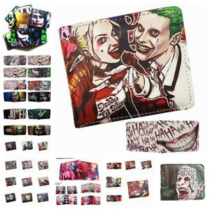 Suicide Squad Wallet Bifold  Cool Purse Leather Card Holders Wallets