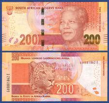 SÜDAFRIKA / SOUTH AFRICA 200 Rand (2013) UNC  P.142