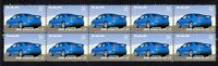 FORD 2008 FALCON FPV FG GT STRIP OF 10 MINT VIGNETTE STAMP 3