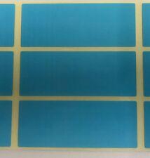 Grande - Blu 30 x 78mm Codice Colore Rettangoli/Archiviazione/Scatola Adesivi