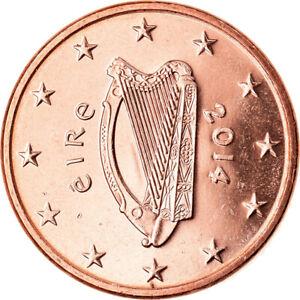 [#792830] IRELAND REPUBLIC, 5 Euro Cent, 2014, Sandyford, SPL, Copper Plated Ste