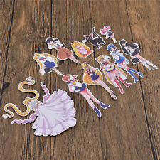 Sailor Moon Posted Scrapbooking Sticker Collection Anime Japanese Art Character