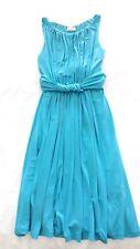 New Calvin Klein Tourquoise Blue Grecian Look Dress-Size 10