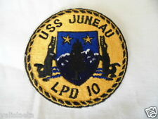 PATCH US Navy USN USS JUNEAU LPD 10 / MARINE USA