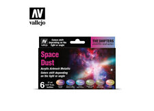 AIRBRUSH PAINTS - VALLEJO THE SHIFTERS - SPACE DUST (6 x 17ML) - 77091