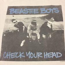 Beastie Boys Check Your Head Large Gray T-shirt Rap Hip Hop NYC New York Rock