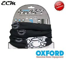 Oxford confortable Skeleton Lot de 3 Echarpe Tube Chauffant écharpe Moto BANDANA