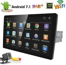 Double Din Head Unit Android System HD1080P 2GB RAM GPS Navigation AUX