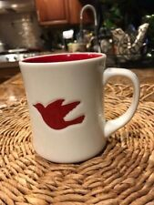 Starbucks Christmas Dove 2008 Coffee Mug