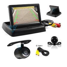 """Kit Retromarcia Monitor 4.3"""" Richiudibile e Mini Telecamera a specchio per Auto"""