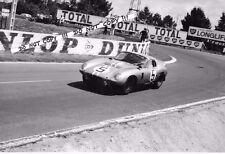9x6 photographie Gurney/Bondurant AC Cobra Daytona Coupe Le Mans 24hrs 1964