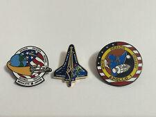 NASA Lapel Pins Fallen Hero's Apollo 1 Challenger Columbia 51-L,STS-107 Shuttle