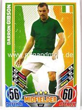 Match Attax Euro EM 2012 - #137 Darron Gibson - Irland