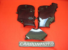 (CCG) CARBON FIBRE CAM BELT COVERS SET OF 3 TO FIT DUCATI 999 ALL YEARS *NEW*