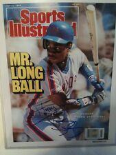 Darryl Strawberry Signed Sports Illustrated Photo New York Mets Baseball Steiner