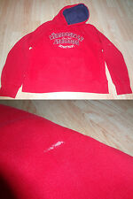 Youth Girls Aeropostale M Tomboy Fit Hooded Red Sweatshirt (A)