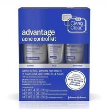 Clean & Clear Advantage Acne Control Kit NEW
