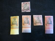 Germany: PO Turkish Empire 1900 Reich Post surcharges mint /used selection