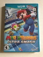 Mario Tennis: Ultra Smash (Nintendo Wii U, 2015) New Sealed