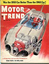 Motor Trend Magazine April 1956 DeSoto Olds Firebird II 122115jhe
