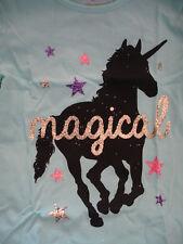 Girls Sparkle Unicorn Shirt Size 6 Toddler T-shirt Clothes 5 7 Long Sleeve Girl