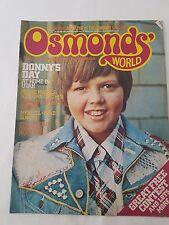 OSMONDS' WORLD MAGAZINE - No.20
