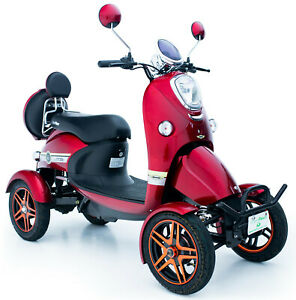 Spectacular Electric Mobility Scooter RED 60V100AH 800W FREE ENGINEERED DELIVERY
