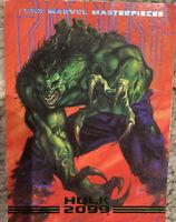 Marvel Masterpieces 2 (1993) Hulk 2099 Promo Card - Skybox 1993