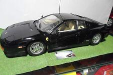 FERRARI TESTAROSSA Spider cabriolet noir monté au 1/8 d POCHER voiture miniature