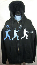 Blue Man Group How to Be a Megastar Tour 2.0 Zip-Up Music Hoodie Jacket Medium