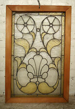 Antique Stained Glass Window Panel (2040)Ns